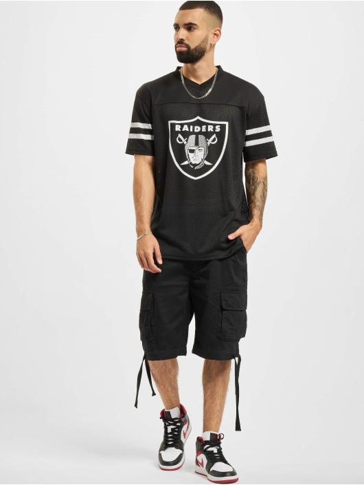 New Era T-Shirt NFL Las Vegas Raiders Outline Logo Oversized schwarz