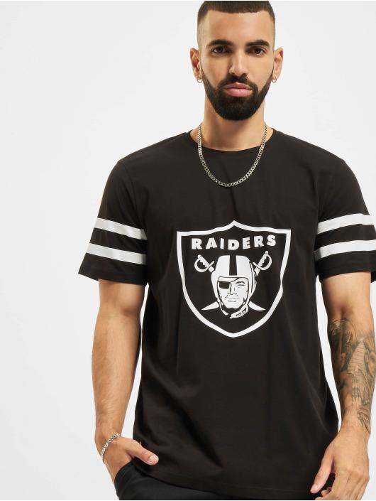 New Era T-Shirt NFL Las Vegas Raiders Jersey Inspired schwarz
