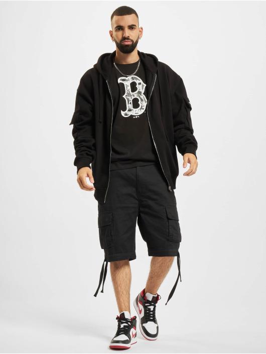 New Era T-Shirt MLB Boston Red Sox Camo Infill schwarz
