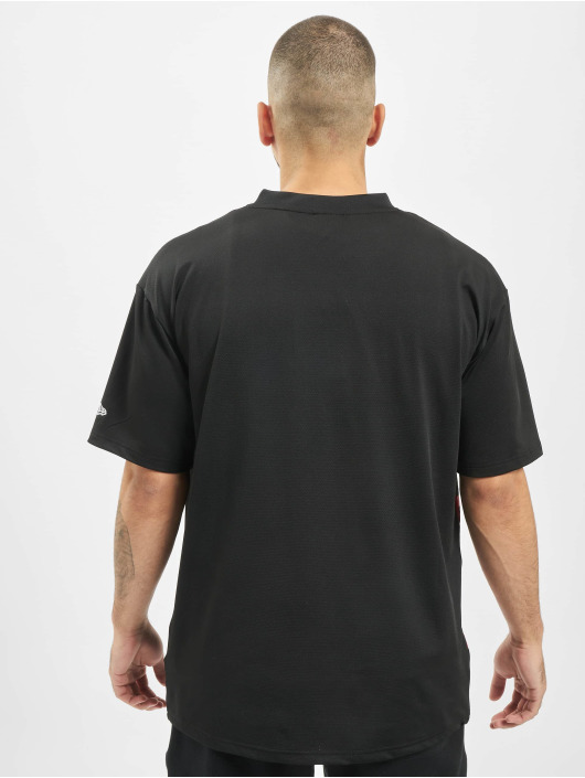 New Era T-shirt NBA Chicago Bulls svart