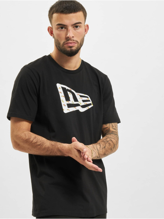 New Era T-shirt NE Fly Fish Infill svart