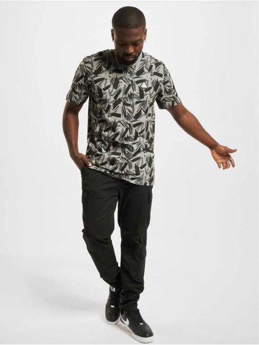 New Era T-shirt Contemporary AOP svart
