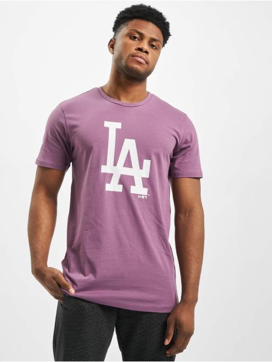 New Era T-Shirt MLB LA Dodgers Seasonal Team Logo violet