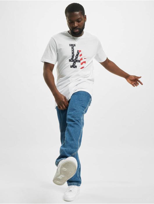 New Era T-shirt MLB Los Angeles Dodgers Infill Team Logo vit