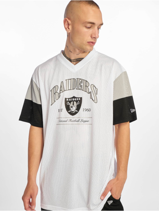 New Era T-Shirt NFL Oakland Raiders Established weiß