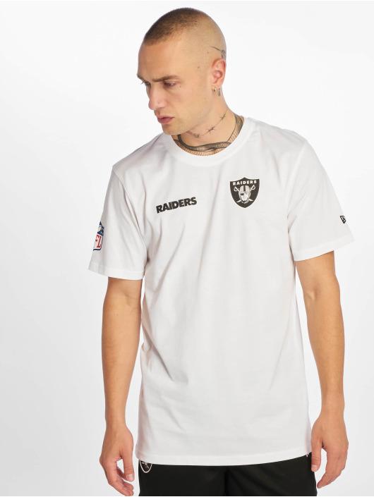 New Era T-Shirt NFL Oakland Raiders Established Number weiß