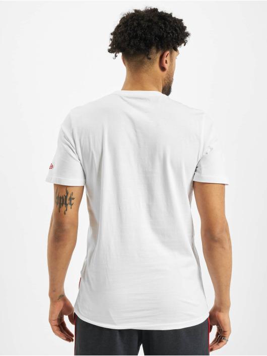 New Era T-Shirt NBA Chicago Bulls Block Wordmark weiß