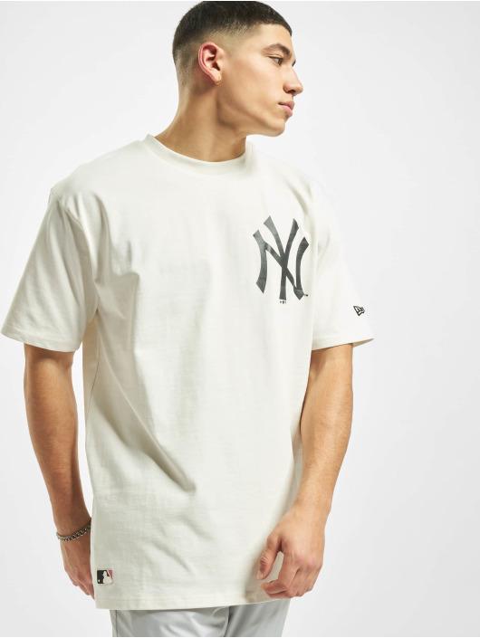 New Era T-Shirt MLB NY Yankees Big Logo Oversized weiß