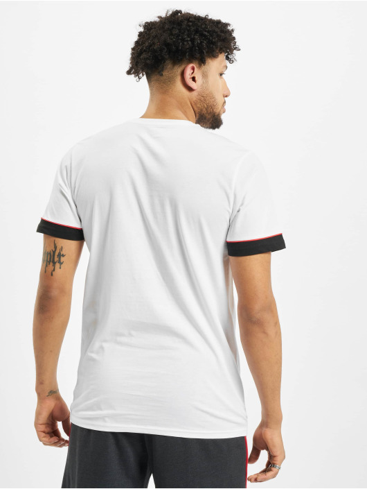 New Era T-Shirt NBA Chicago Bulls Stripe Piping weiß