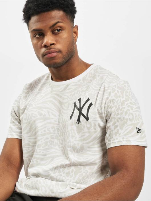 New Era T-Shirt MLB NY Yankees AOP weiß