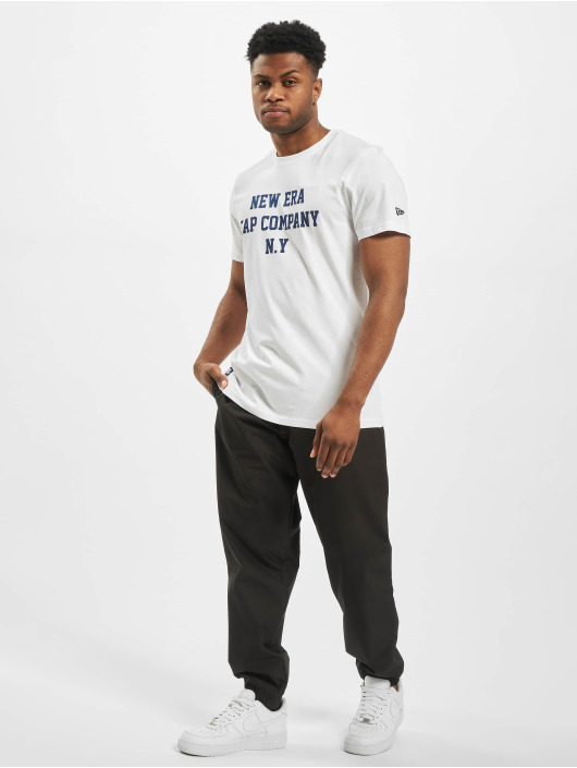 New Era T-Shirt College Pack College weiß