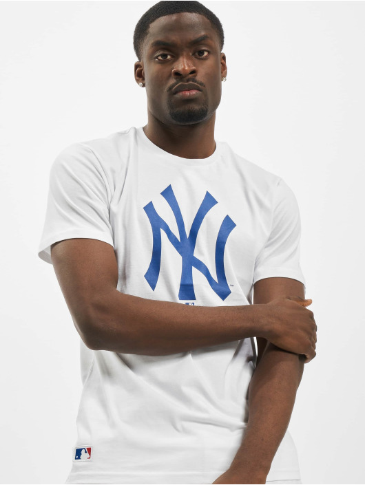 New Era T-Shirt NY Yankees Primry Contrast weiß