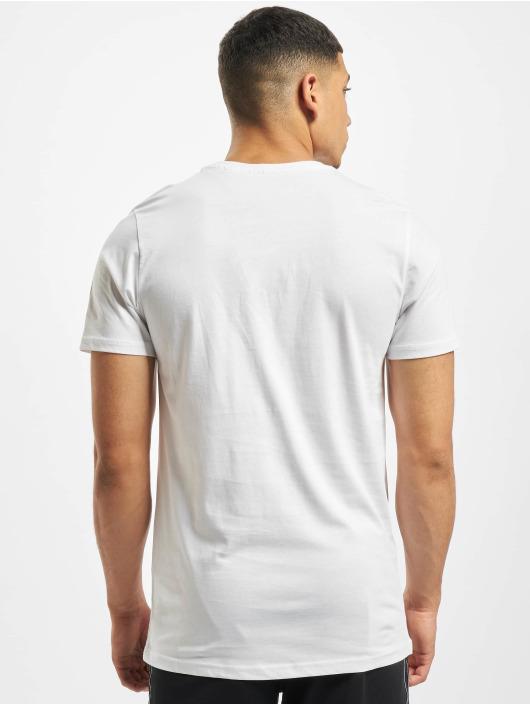 New Era T-Shirt MLB NY Yankees Camo Infill Logo weiß