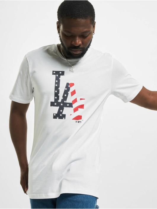 New Era T-Shirt MLB Los Angeles Dodgers Infill Team Logo weiß