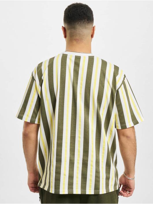 New Era T-Shirt MLB San Francisco Giants Oversized Stripe weiß