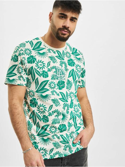 New Era T-Shirt MLB Los Angeles Dodgers Floral AOP weiß