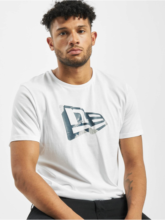 New Era T-Shirt Flag Infill white