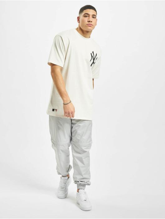 New Era T-Shirt MLB NY Yankees Big Logo Oversized white