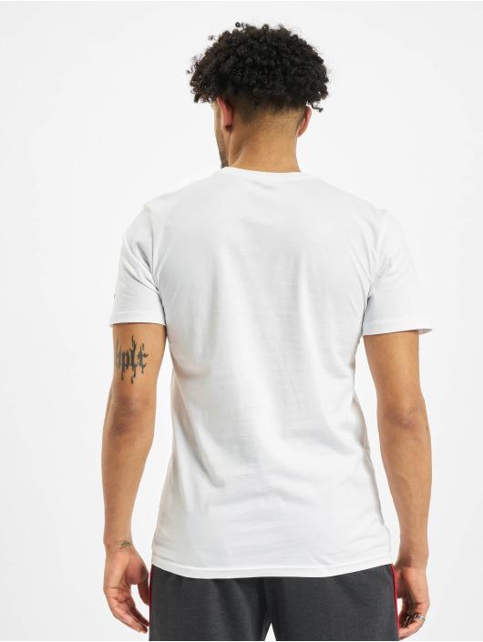 New Era T-Shirt NBA Chicgo Bulls Photo Print white