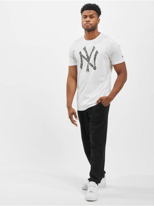 New Era T-Shirt MLB NY Yankees Print Infill white