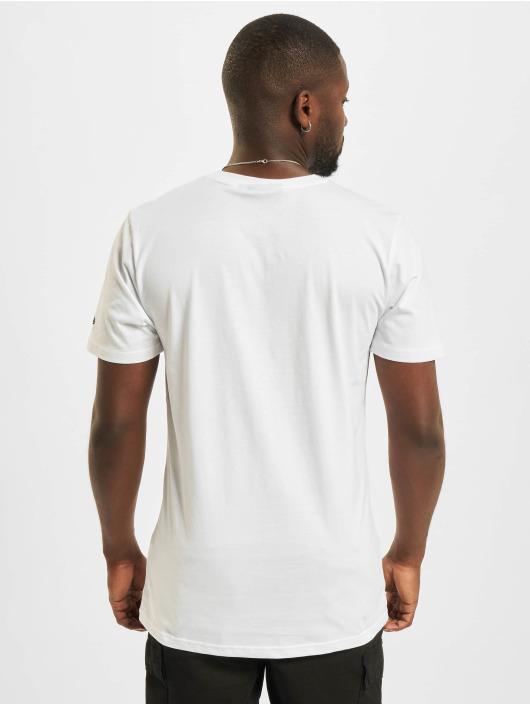New Era T-Shirt Minor League Ashville Tourists Heritage Patch white