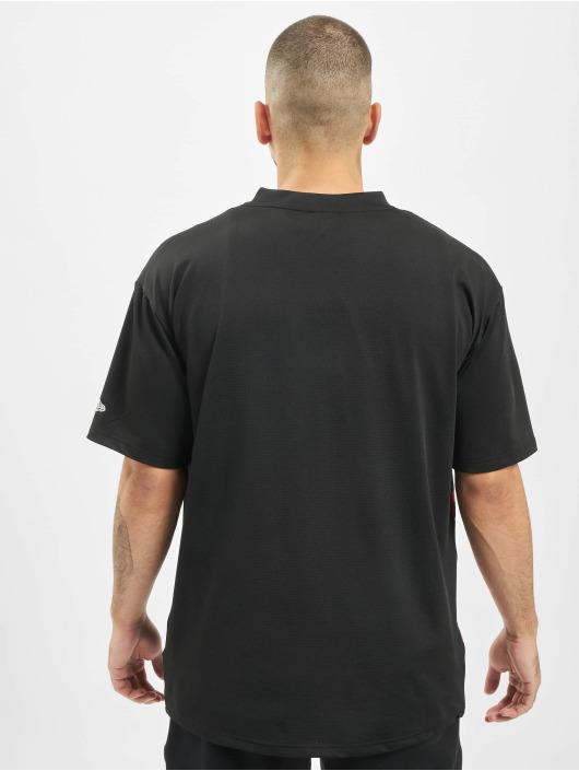 New Era t-shirt NBA Chicago Bulls zwart