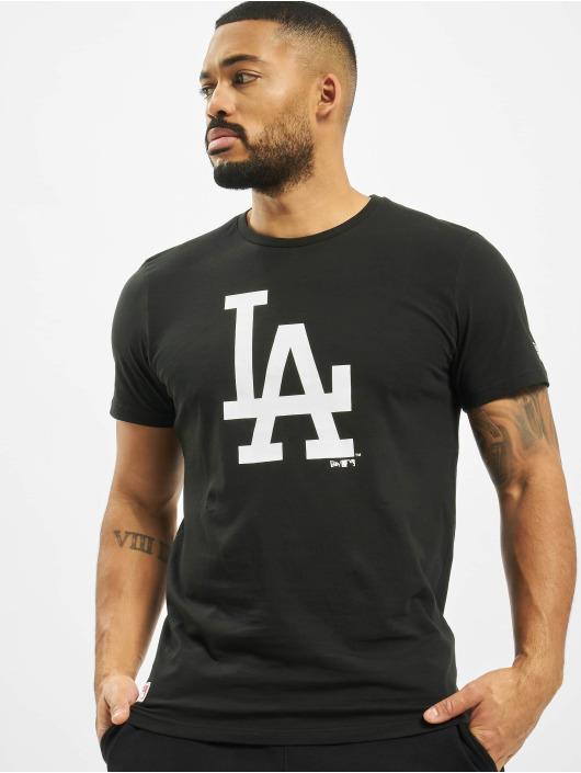 New Era t-shirt MLB LA Dodgers Seasonal Team Logo zwart
