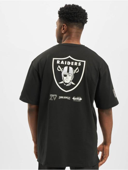 New Era t-shirt NFL Oakland Raiders Oversized Super Bowl zwart