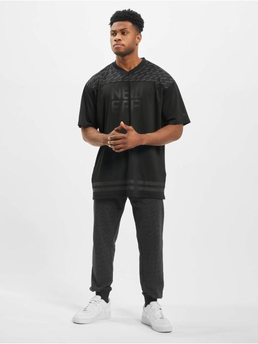 New Era t-shirt Technical Oversized zwart