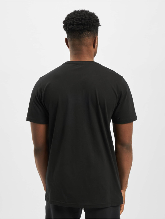 New Era t-shirt Patch Pack Printed Logo zwart