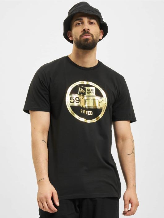 New Era t-shirt Essential Visor Sticker zwart
