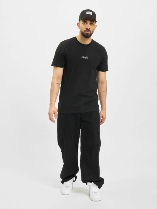 New Era t-shirt Essential Script zwart