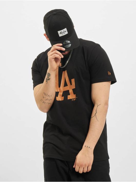 New Era t-shirt MLB Los Angeles Dodgers Seasonal Team Logo zwart