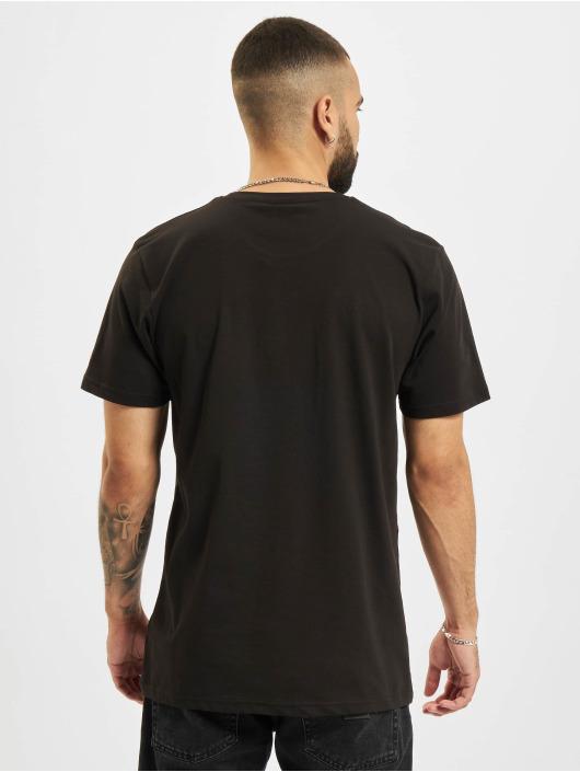 New Era t-shirt NBA Chicago Bulls Enlarged Logo zwart