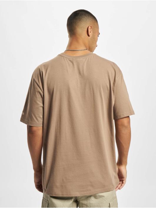 New Era T-shirts MLB NY Yankees Oversized Seasonal Color brun