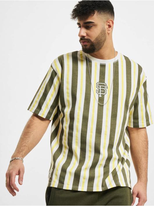 New Era T-shirts MLB San Francisco Giants Oversized Stripe hvid