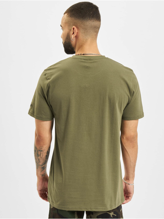 New Era T-shirts MLB New York Yankees Camo Infill oliven