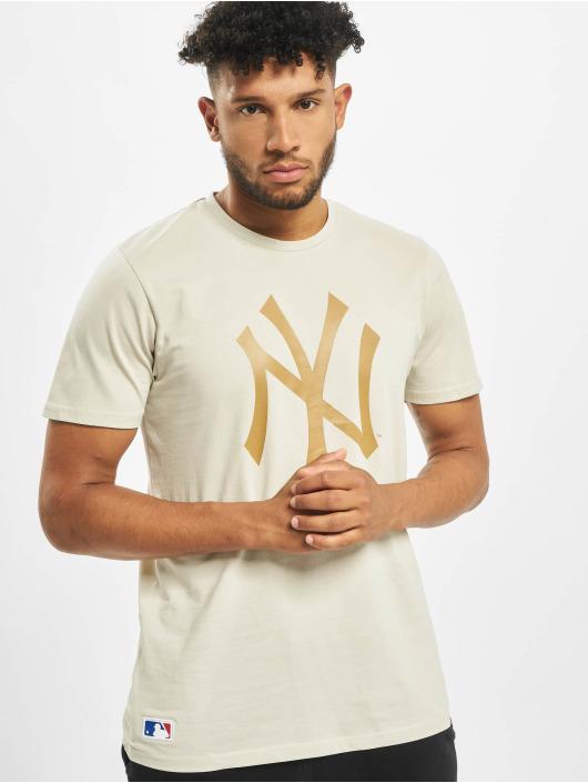 New Era T-Shirty MLB NY Yankees Seasonal Team Logo bezowy