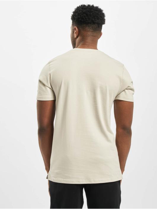 New Era T-Shirty Patch bezowy
