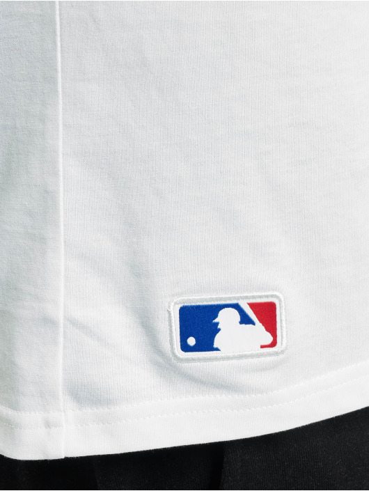 New Era T-Shirty MLB NY Yankees bialy