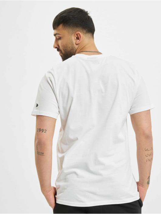 New Era T-Shirty Essential Script bialy
