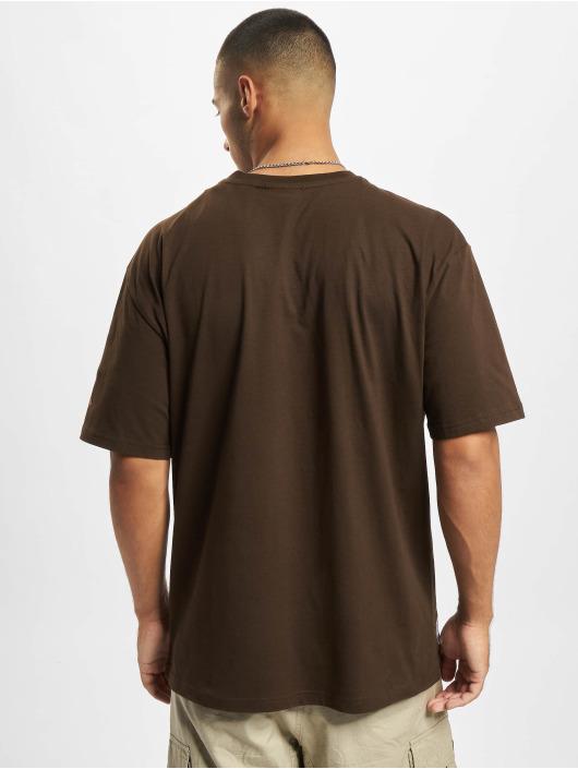 New Era T-Shirty MLB NY Yankees Oversized Seasonal Color brazowy