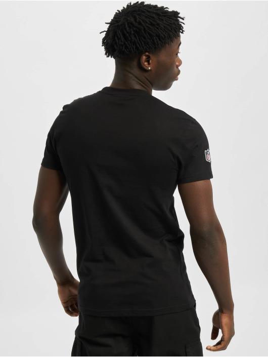New Era T-Shirty Team Logo Oakland Raiders czarny