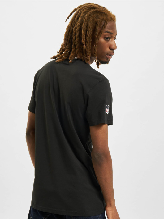 New Era T-Shirty NFL Team Logo czarny