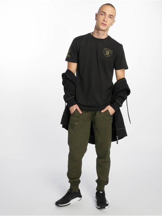 New Era T-Shirty Nfl Camo Collection Oakland Raiders czarny