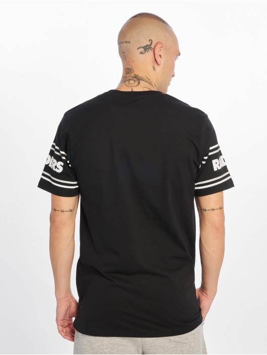 New Era T-Shirty NFL Oakland Raiders Badge czarny