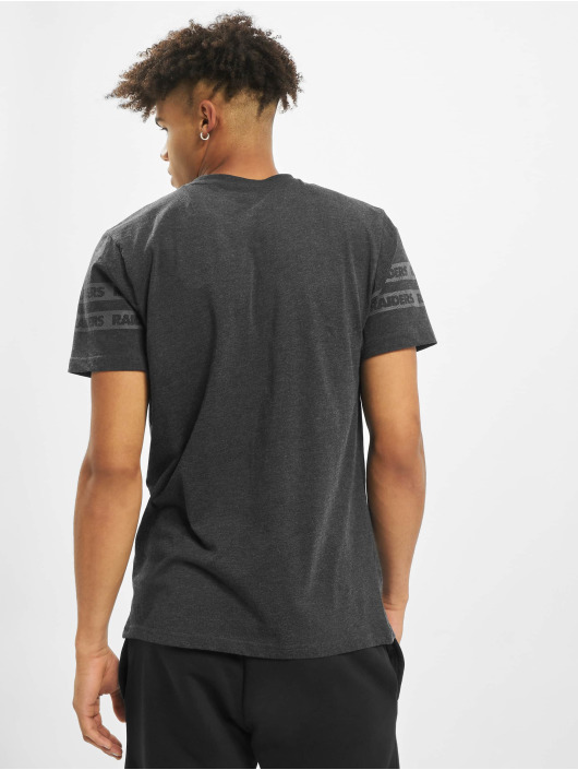 New Era T-Shirty NFL Oakland Raiders Tonal Black czarny