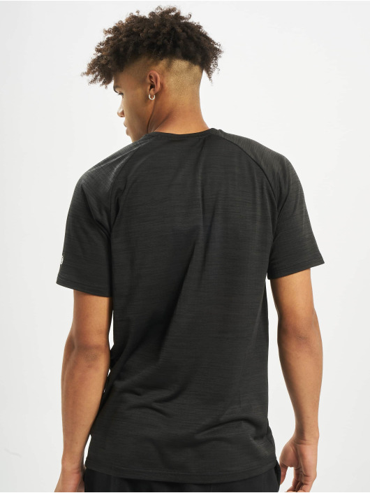 New Era T-Shirty NFL Oakland Raiders Engineered Raglan czarny