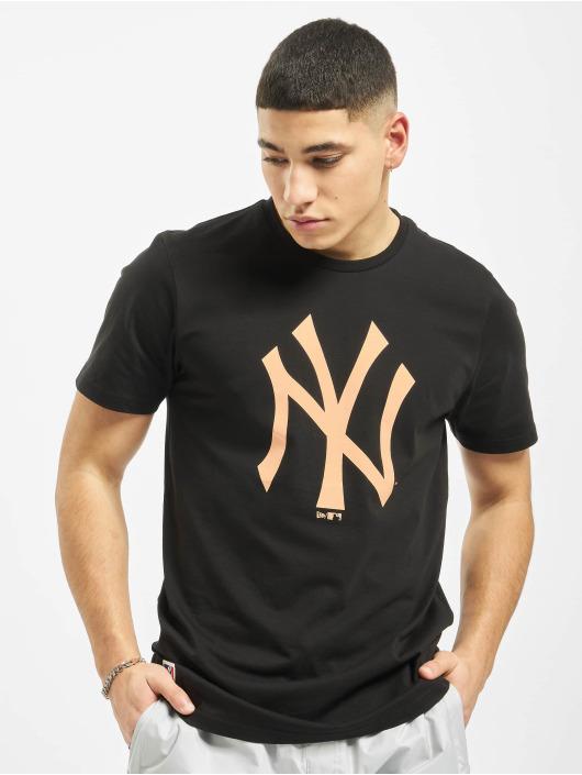 New Era T-Shirty MLB NY Yankees Seasonal Team Logo czarny