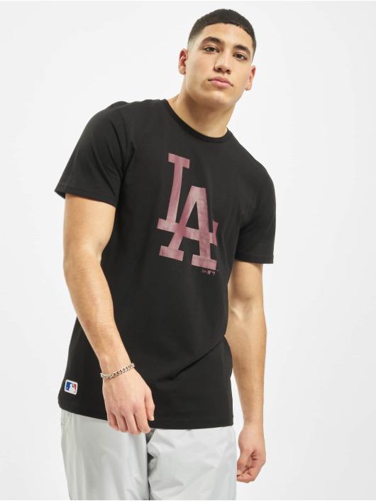 New Era T-Shirty MLB LA Dodgers Seasonal Team Logo czarny